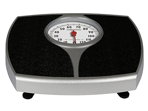 Preisvergleich Produktbild Velleman vtbal37Mechanische Personenwaage 130kg/1kg–schwarz (1)