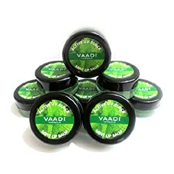 Vaadi Super Value Pack of 8 Lip Balm - Mint (6 + 2 FREE)