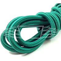 6 METRES OF GREEN REPLACEMENT TODDLERS TRAMPOLINE ELASTIC 10mm THICK BUNGEE CORD
