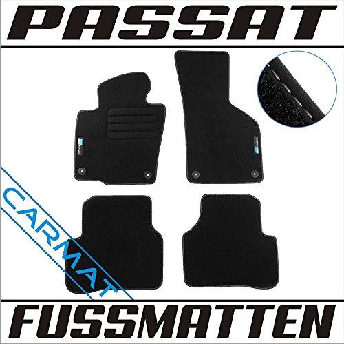 Vw 2010-fußmatten Passat (CARMAT Fussmatten mit LOGO VVVV/PAY05/L/B)