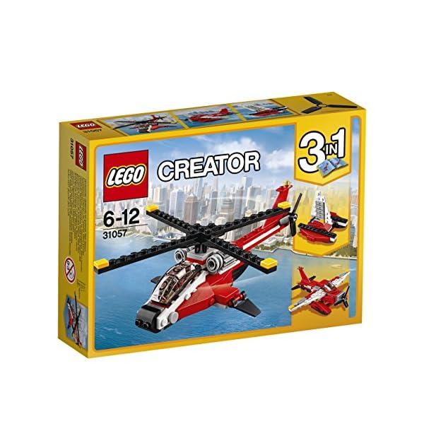 LEGO- Creator Elicottero di Soccorso Costruzioni Piccole Gioco Bambina Giocattolo, Multicolore, 31057 4 spesavip