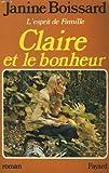 """Afficher """"L' Esprit de famille n° 3 Claire et le bonheur"""""""
