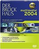 Software : Der Brockhaus multimedial 2004, Vollversion, 1 DVD-ROM Das aktuelle, verständliche Lexikon zu allen Wissensgebieten. Für Windows 98/Me/NT/2000/XP