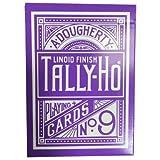 Purple Tally Ho Reverse Circle Back Limi...