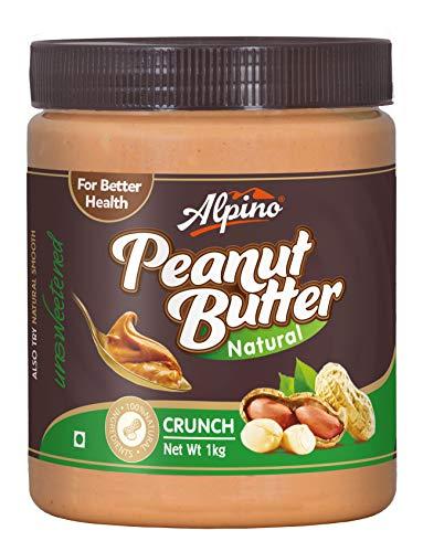 8. Alpino Natural Crunch Peanut Butter