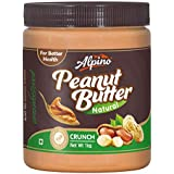 Alpino Natural Crunch Peanut Butter 1kg (Unsweetened)