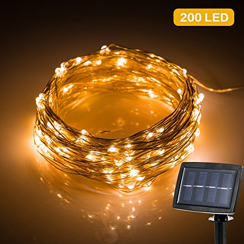 Catena Luminosa 22 Metri 200 LED, Stringa Luci Led...