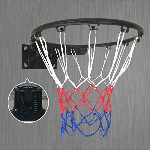 SUON Kinder Basketballständer Basketball-Netz Innen Draussen Hängendes Basketball Ziel An Der Wand Montiert Kind Basketballkorb 2 Farben Wahlweise Freigestellt (Color : Black)