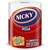 Nicky Mega Rollo de Cocina Compacto, Super Resistente - 1 Rollo