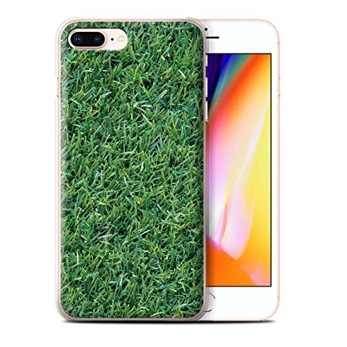 Stuff4 Hülle / Case für Apple iPhone 8 Plus / Pilze Muster / Pflanzen/Blätter Kollektion Gras / Rasen