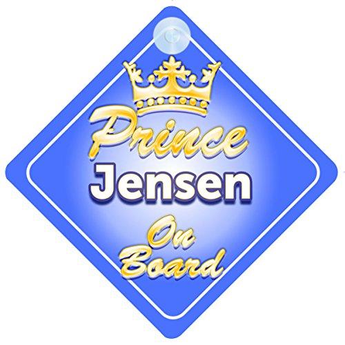 crown-prince-jensen-on-board-personalizzato-bambino-bambino-ragazzo-auto-segno
