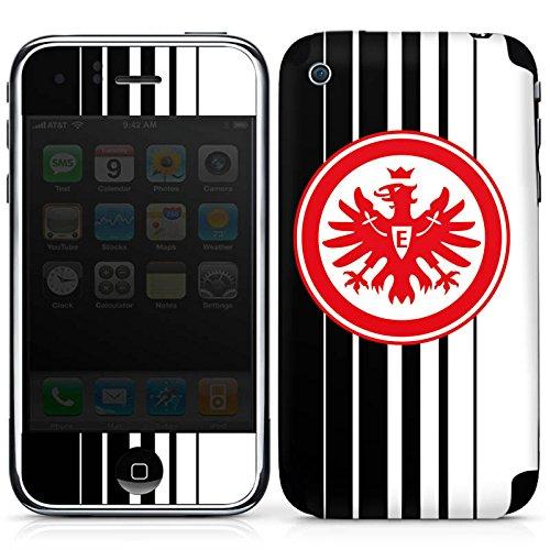 DeinDesign Apple iPhone 3Gs Folie Skin Sticker aus Vinyl-Folie Aufkleber Eintracht Frankfurt Fanartikel Fußball Sge