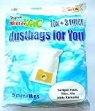 10xSTAUBSAUGERBEUTEL+3 FILTER geeignet NILCO RUCKSACK-SAUGER RS07,RS17,Original:2310805,2303805,3301805