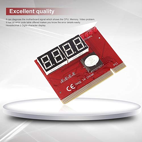 camellia-uk 4-lagige PCB-Diagnosegerät für Laptop/Motherboard (stabiles Signal, Mini-PCI, PCI-E, LPC Post, Fehlerbehebung, Diagnosekarte Tester)