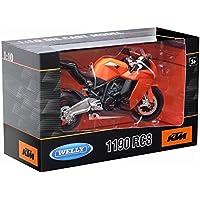 Welly Botas de 60806 W 1: 10 Escala KTM 1190 RC8 Diecast Modelo ...