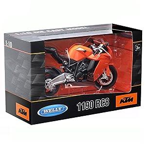 Welly Botas de 60806W 1: 10Escala KTM 1190RC8Diecast Modelo de la Motocicleta