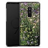 DeinDesign Samsung Galaxy S9 Plus Hülle Case Handyhülle Blumenwiese Wildblumen Blumenfeld