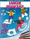 Image de Langue française CE1. Grammaire, vocabulaire, orthographe et conjugaison