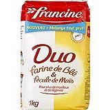 francine Farine Duo blé & maïs - ( Prix Unitaire ) - Envoi Rapide Et Soignée