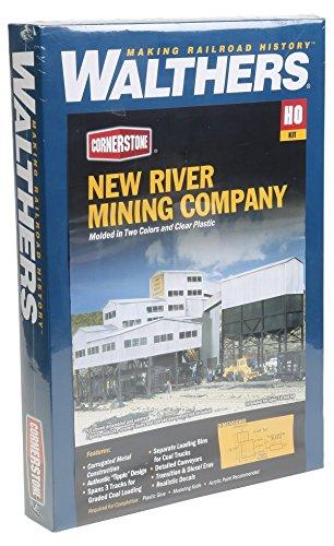 Walthers Cornerstone 933-3017 - Minengebäude New River MiningCompany, Gebäude - New River Gebäude
