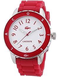 Lacoste Damen-Armbanduhr Analog Quarz Silikon 2000746