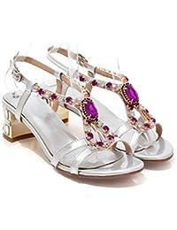 Sandalias Chanclas Zapatos Amazon Y es Varios Piel Para Mujer gnqXHt4