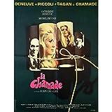 LA CHAMADE Affiche de film - 60x80 cm. - 1968 - Catherine Deneuve, Piccoli,...