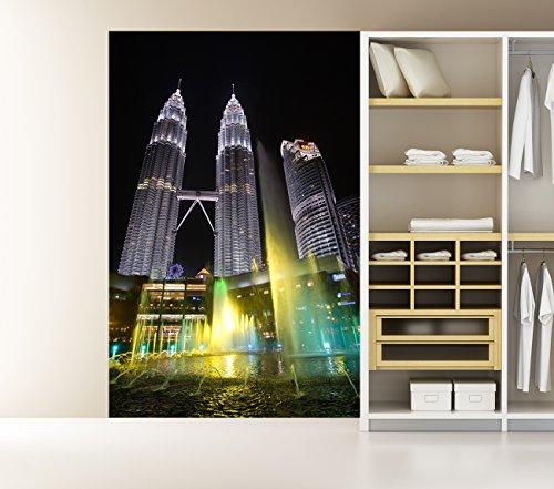 bilderdepot24-self-adhesive-photo-wallpaper-petronas-twin-towers-3937-inch-x-5906-inch-100x150-cm-ma