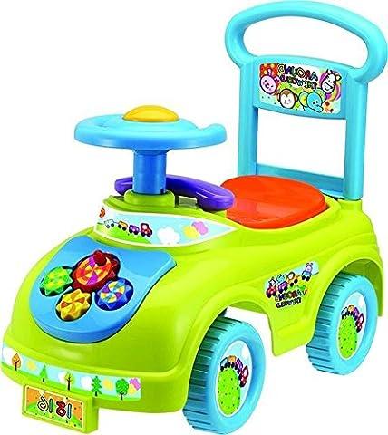 Rutschauto in 10 verschiedenen Modellen - Ein guter und preiswerter Aufsitzwagen Rutschwagen Lauflernwagen Kinderfahrzeug , Modell:Green