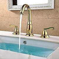 BASCJ ottonerubinetto del bagno,Contemporaneo / moderno diffuso con valvola in