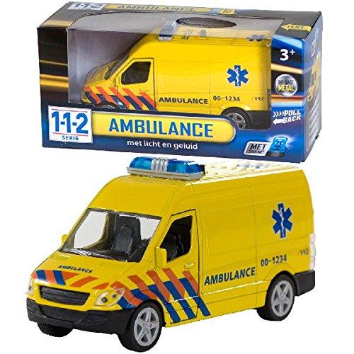AK Sport 0301065 112 Krankenwagen mit Licht/Sound 1: 43 Preisvergleich