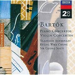 Bart�k: Piano Concertos; Violin Concertos (2 CDs)