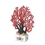 Europet Bernina 234-426401 Aquariumdekoration Aqua Della Coral-Module Koralle, rot, 23.5 x 19.5 x 5.5 cm