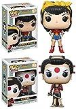 Funko POP! DC Comics Bombshells: Wonder Woman + Katana - Vinyl Figure Set NEW