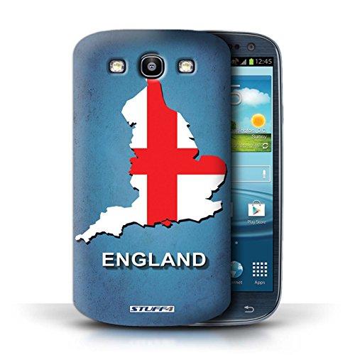 Kobalt® Imprimé Etui / Coque pour Samsung Galaxy S3/SIII / Afrique du Sud/Afrique conception / Série Drapeau Pays Angleterre/Anglais