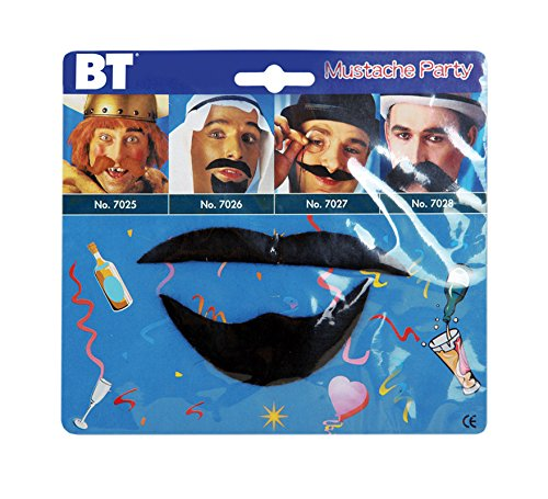 Disfrazzes Blister Schnurrbart und Spitzbart Arabischen Stil (Spitzbart Und Schnurrbart)