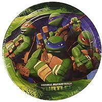 Amscan International 18 cm Teenage Mutant Ninja Turtles Paper Plates