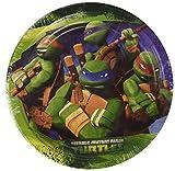 Amscan International 18cm Teenage Mutant Ninja Turtles Papier Teller