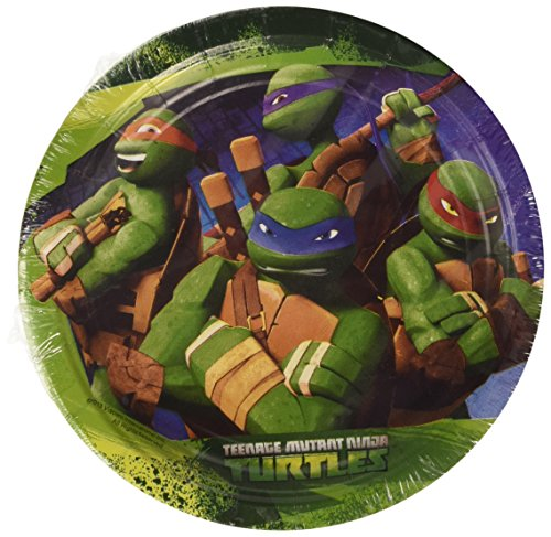 18 cm Teenage Mutant Ninja Turtles Papier Teller (Ninja-turtle Halloween)