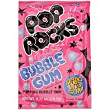 Pop Rocks Candy Bonbons Pétillants Bubble Gum 9,5 g -