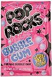 Pop Rocks Candy Bonbons Pétillants Bubble Gum 9,5 g - Lot de 6