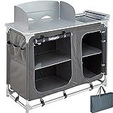 TecTake 800585 Cuisine de Camping Meuble de Jardin - Divers modèles - (Type 2 | n°...