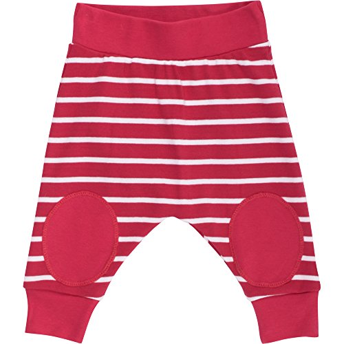 Fred's World by Green Cotton Unisex Baby Hose Stripe funky pants 1535029100, Gestreift, Gr. 68, Rot (Red 019176206)