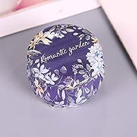 LMKIJN Classique Petite boîte à Cadeaux créative de Bonbons de Mariage Boîte à thé de Fleur de Fer-Blanc (Pourpre) Bonbonnière