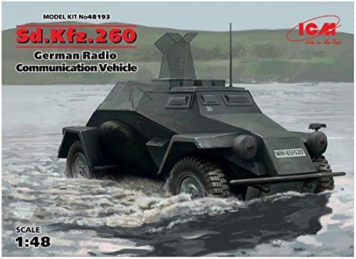 ICM 48193Maqueta de SD.Coche.260German Radio Communication Vehicle
