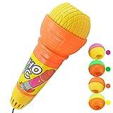 Vovotrade Echo-Mikrofon Mic Voice Changer-Spielzeug-Geschenk Geburtstagsgeschenk Kinder-Party-Song