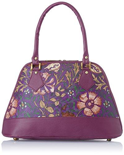 Alessia74 Women\'s Handbag (Purple) (PBG291D)