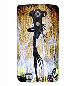 PrintDhaba Abstract Image D-4384 Back Case Cover for LG G3 (Multi-Coloured)