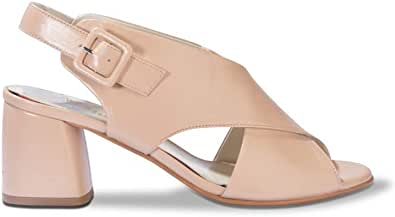 Melluso Scarpe Sandali da Donna Pelle Rosa N623-SKIN