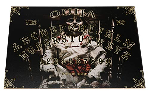 Wiccan Star Annabellestil hölzernes Ouija Brett. Hexenbrett mit detaillierten anweisungen (in Englisch). Ouija Board (Ouija-brett)